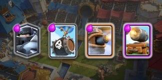 Cuatro nuevas cartas en Clash Royale