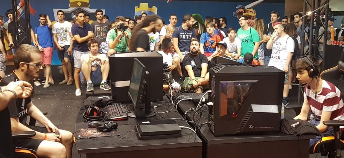 Khaelan contra Alex en la final de Gamergy 2017