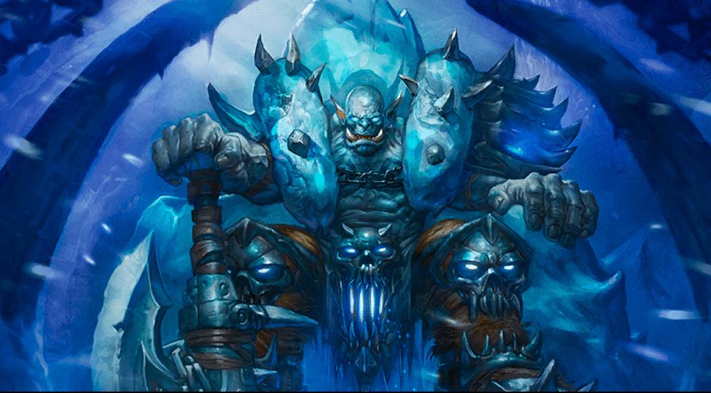 Art de la versión lich del guerrero.