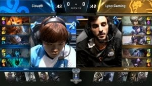 C9 vs LYN worlds día 5