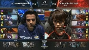 FB vs HKA Worlds día 4