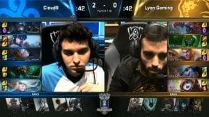 LYN vs C9 Worlds