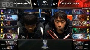 EDG vs AHQ