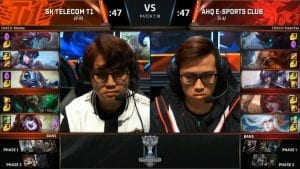 SKT vs AHQ