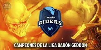 Liga Barón Geddon Movistar Riders