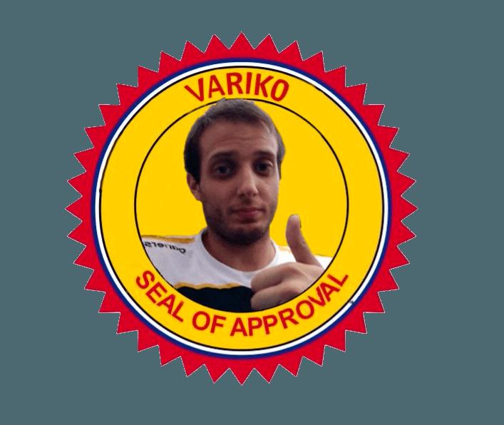 Varik0 seal of aproval