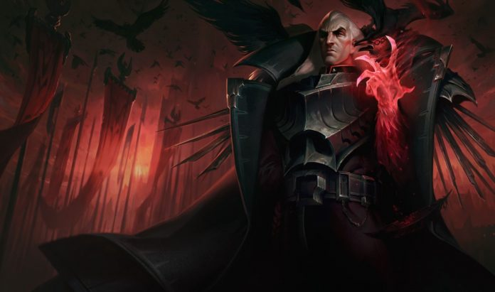 Rework de Swain, el Gran General de Noxus