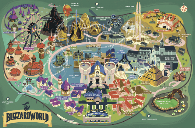 Mapa Blizzard World