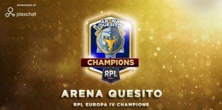 Final de la RPL Europa, la edad de oro de los Quesitos. Arena Quesito campeones