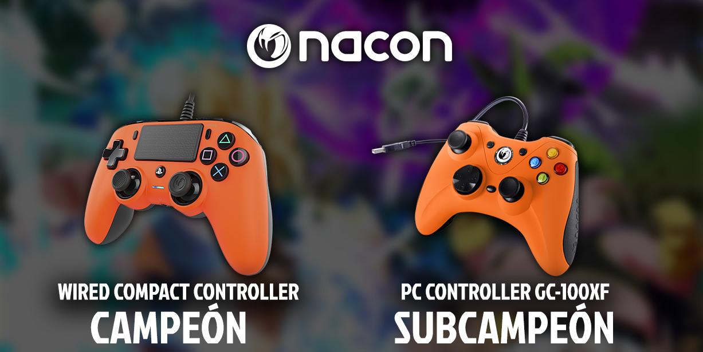Estos increíbles mandos de Nacon pueden ser tuyos si ganas el campeonato.