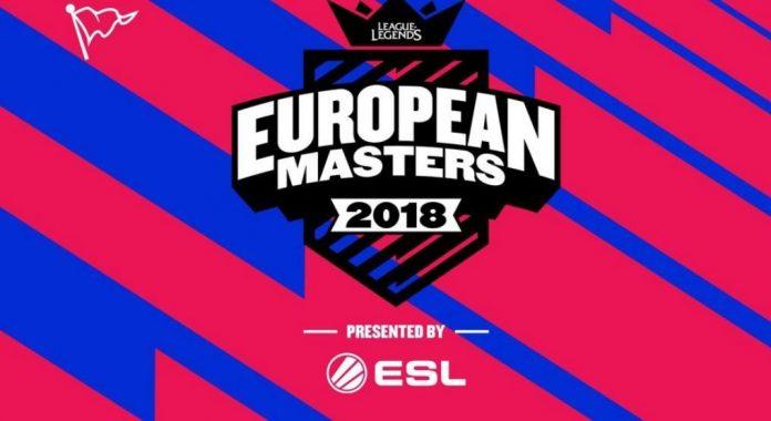 European Masters 2018 LoL