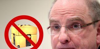 Bélgica declara ilegales las cajas de botín.