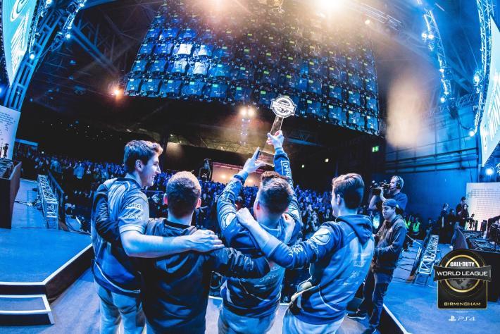 Luminosity ganando la CWL Birmingham el abril de 2018