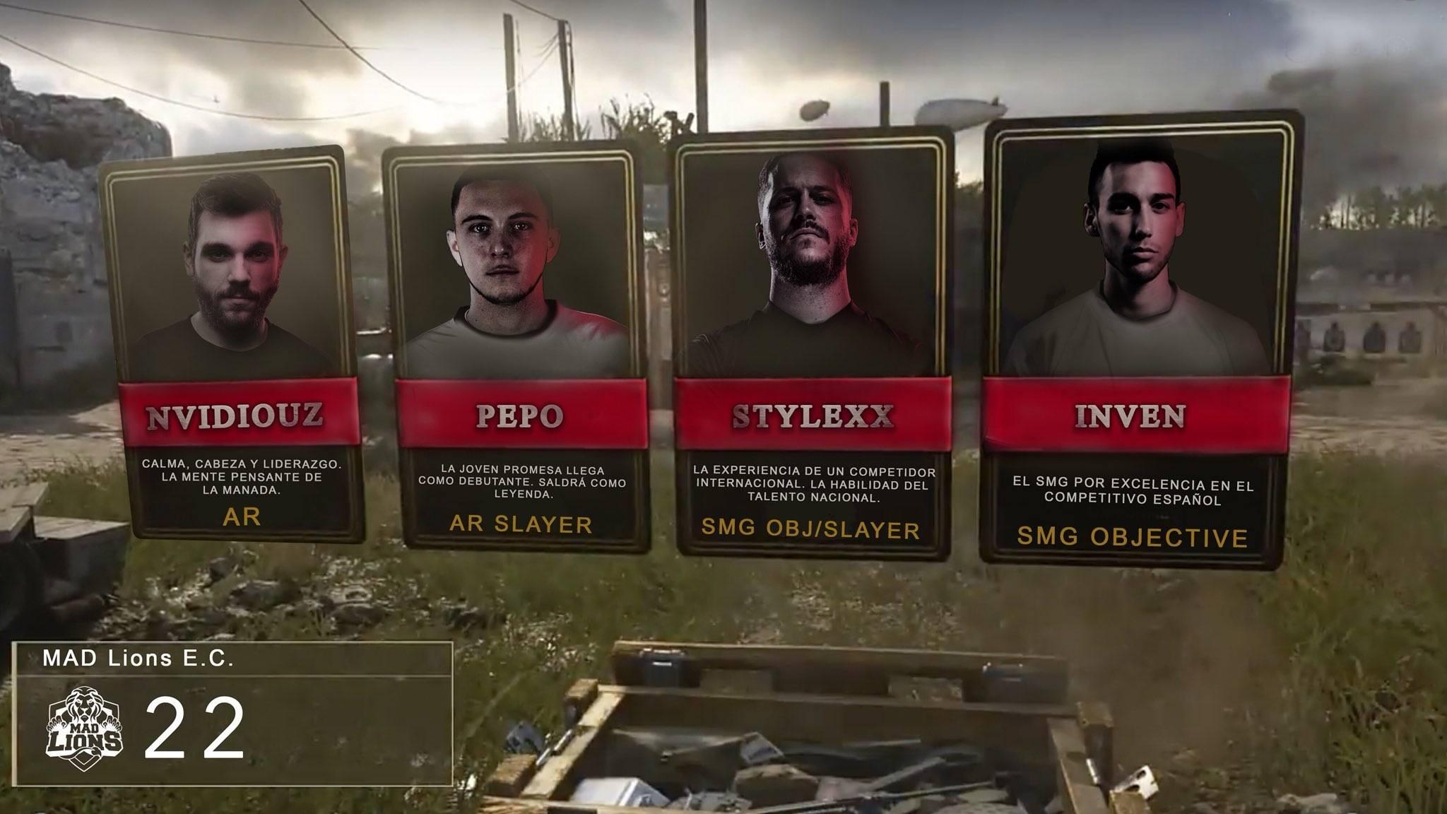 El regreso de Call of Duty. Los equipos de la SLO al detalle