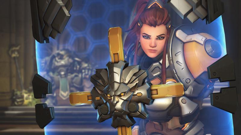 Brigitte se podrá jugar por fin en la Fase 4 de la Overwatch League.