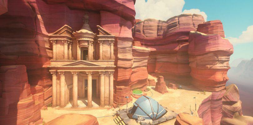 Mapa de Overwatch: Petra