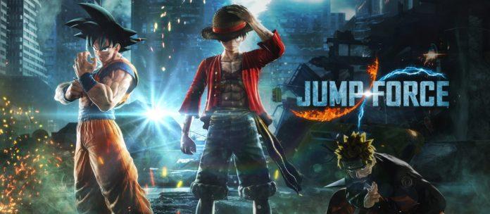 Jump Force, nuevo crossover de Naruto, One Piece y Dragon Ball