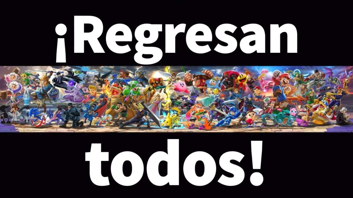 El regreso de un grande: Super Smash Bros. Ultimate