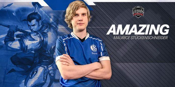 Amazing será el nuevo jungla del Schalke 04