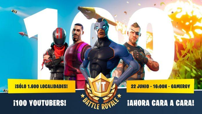 El torneo presencial de Fortnite con 100 youtubers en Gamergy