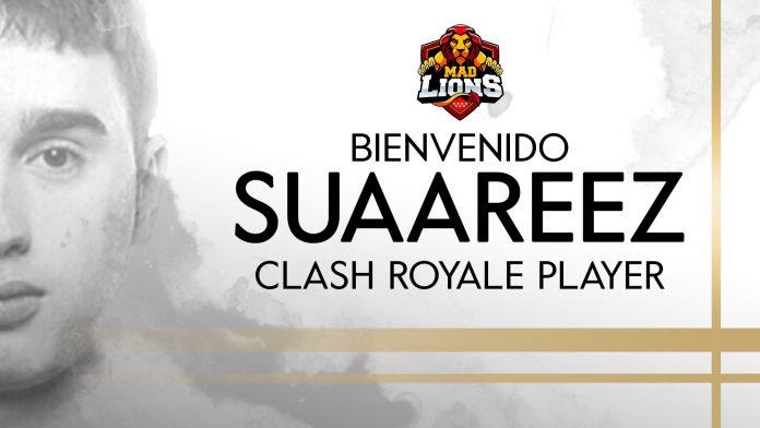 SuaaReeZ ficha por MAD Lions tras su salida de Heretics