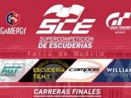 Gamergy acoge las finales de la SCE y la Open Cup de GT Sport