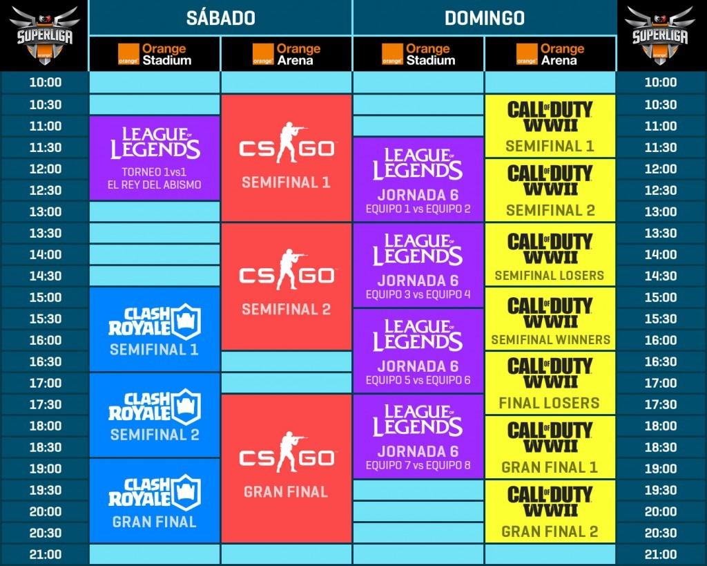 horario gamergy
