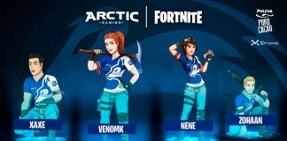 Arctic Gaming se sube al autobús de Fortnite