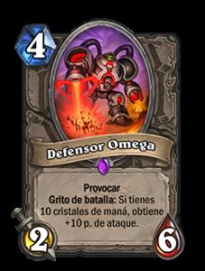 """La primera de las cartas """"Omega"""" aumenta notablemente su ataque cuando tenemos 10 manas"""