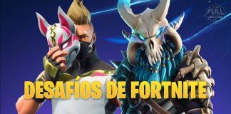 Desafíos Fortnite primera semana, quinta temporada.