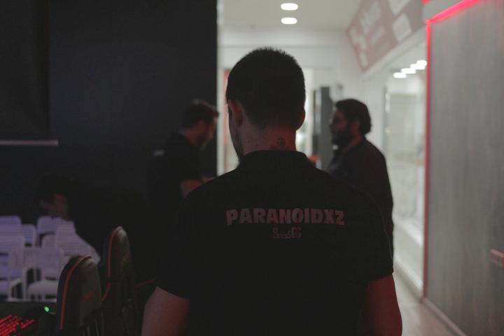 'Paranoidxz' en su época de entrenador amateur.