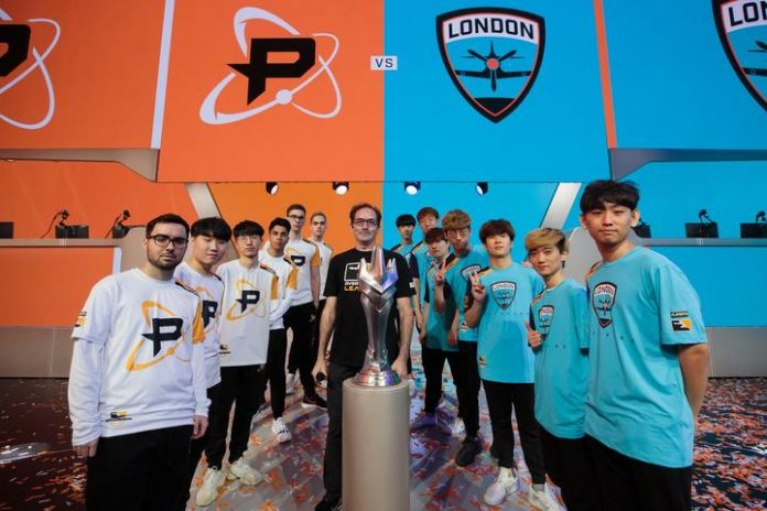 London Spitfire y Philadelphia Fusion