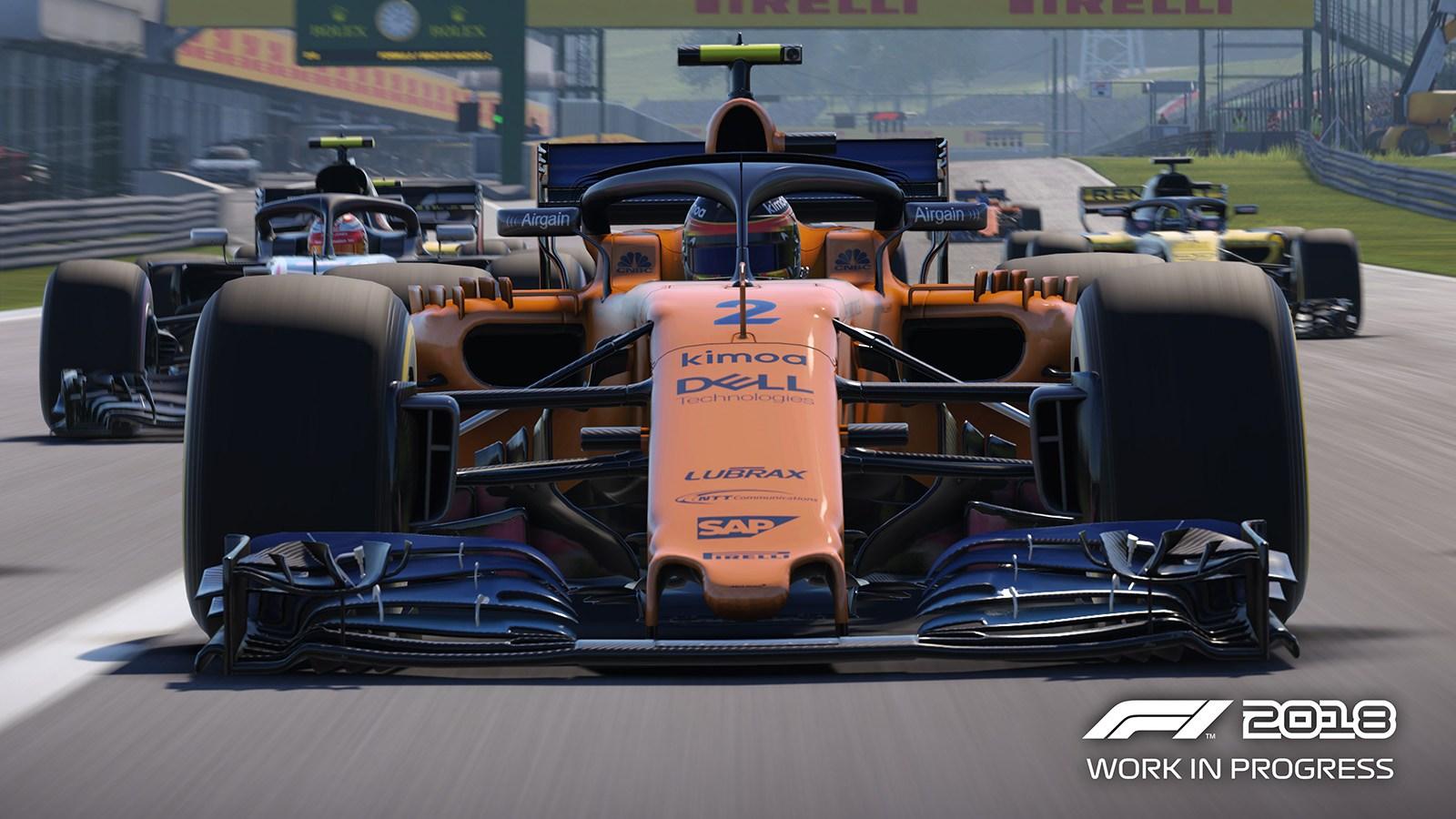 Monoplaza de Stoffel Vandoorne en el nuevo F1 2018