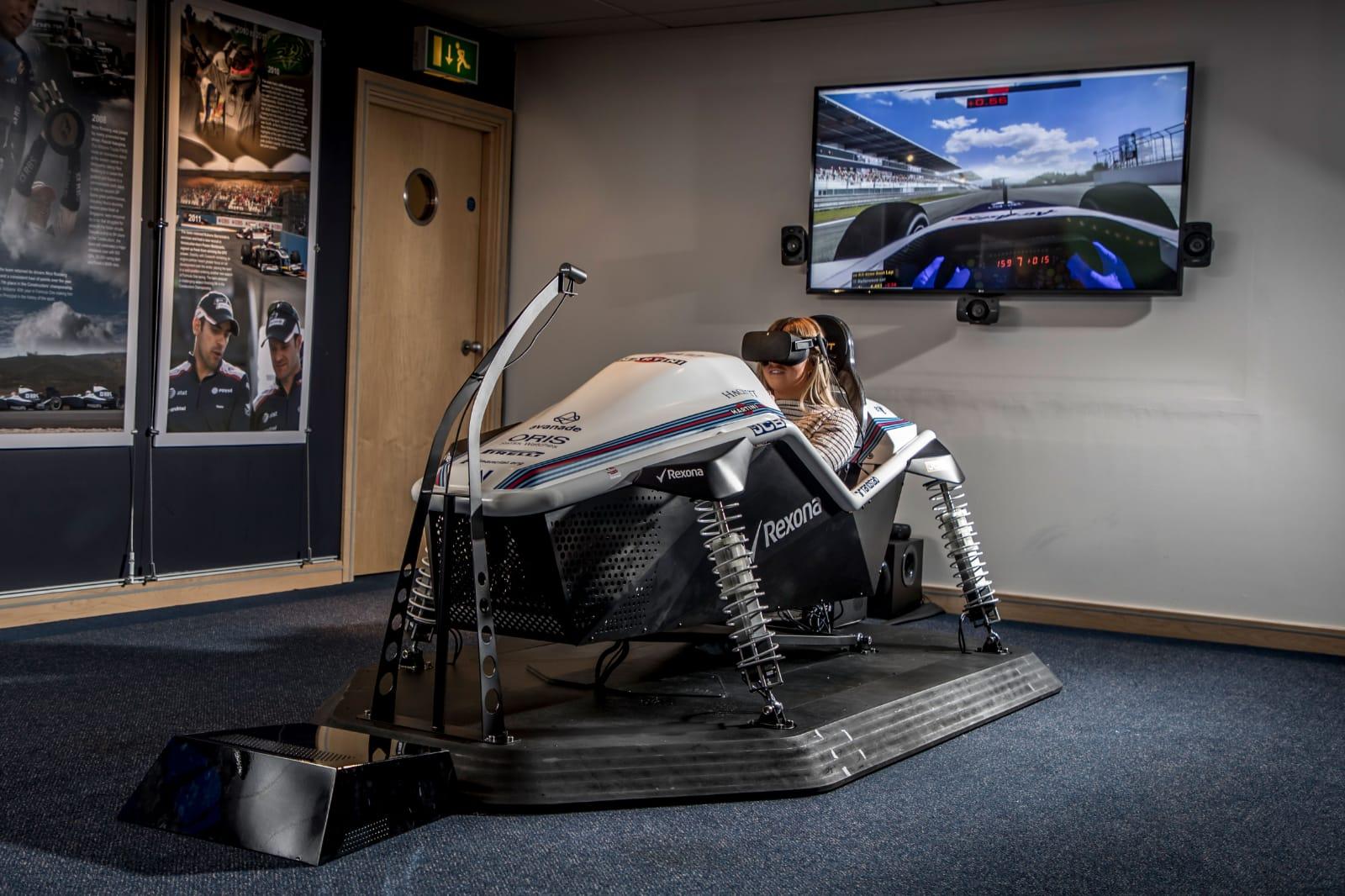Simulador de Williams Martini Racing
