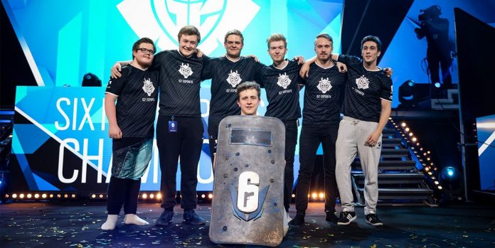 G2 se hace con el Six Major Paris 2018 de Rainbox Six Siege