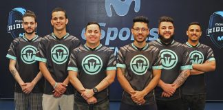 El equipo de Immortals de Rainbow Six Siege en el Movistar eSports Center
