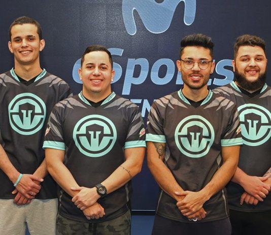 El equipo de Immortals de Rainbow Six Siege en el Movistar eSports Center