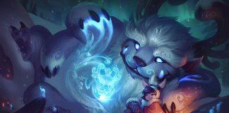 Nunu y Willump - League Of Legends Artwork
