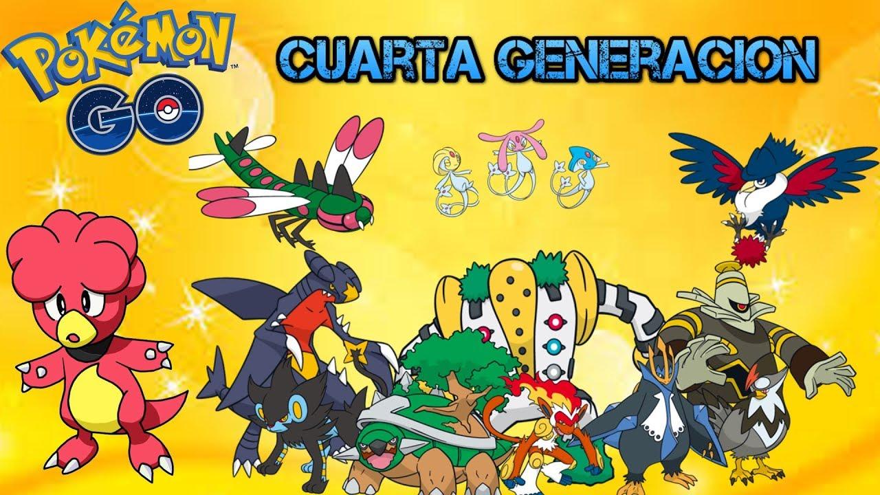 La cuarta generación incluye a Pokémon como Garchomp, Infernape o Empoleon