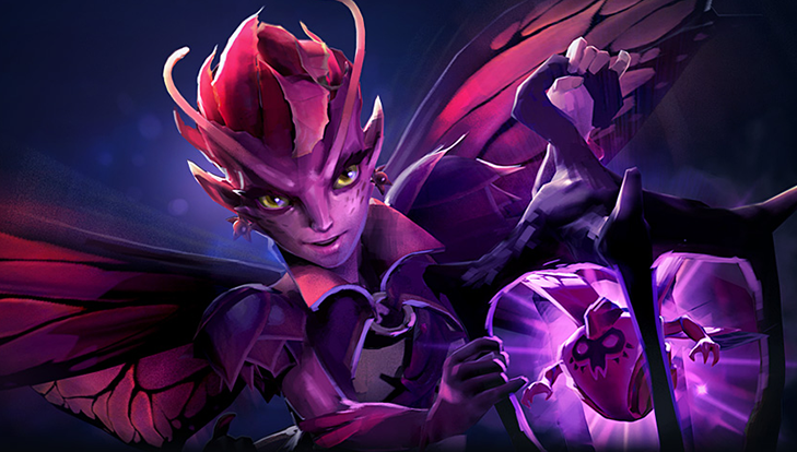 Dark Willow, uno de los héroes más jugados del metagame actual, es una de las mayores afectadas por el parche 7.19b