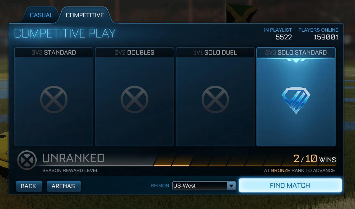 Desbloquear recompensas de temporada en Rocket League