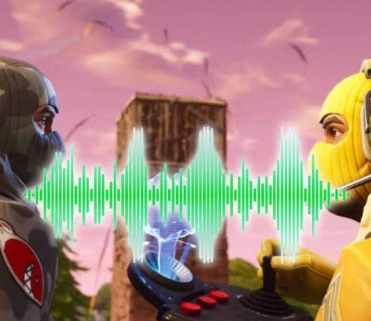 El sonido en Fortnite