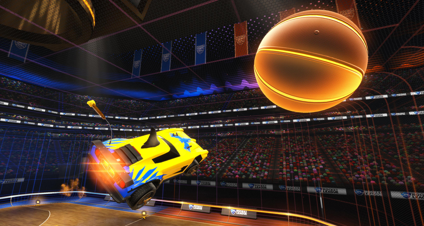 Modo de Juego Hoops en Rocket League