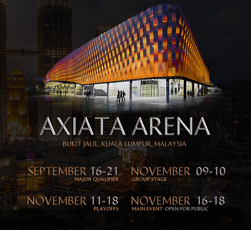 Axiata Arena The Kuala Lumpur Major
