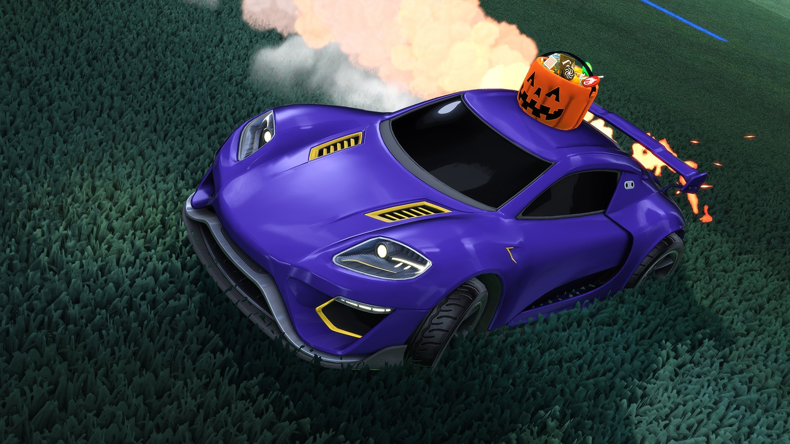 Haunted Hallows vuelve a Rocket League por Halloween