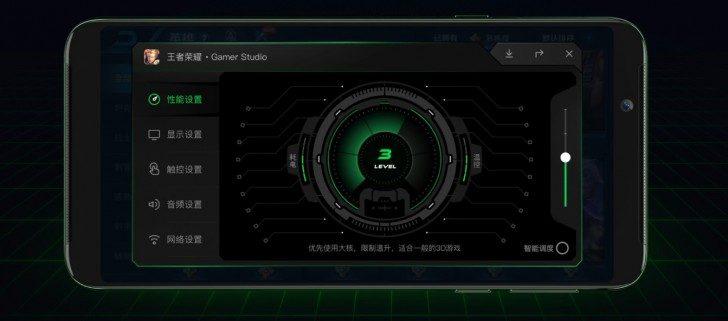La aplicación Gamer Studio nos permitirá tener distintos perfiles de uso en el Black Shark Helo