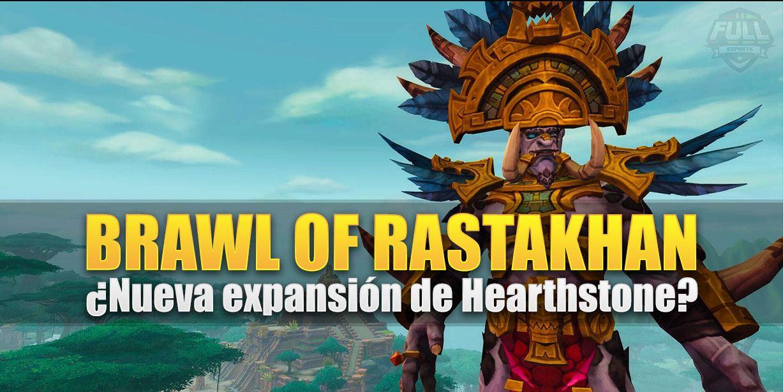 Se filtra el nombre de la nueva expansión de Hearthstone: Brawl of Rastakhan