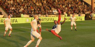 Una chilena en el FIFA 19 de EA Sports