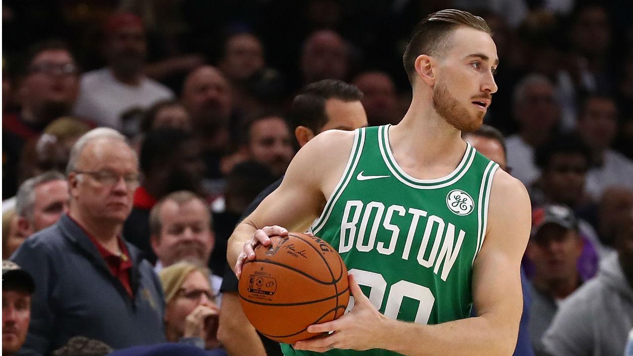 Gordon Hayward, alero de los Boston Celtics en la NBA