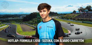 Alvaro Carretón, hotlap Suzuka Formula 1 2018